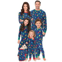 Family Matching Outfits Christmas Xmas Pajamas Sets Adult Children For The Family  Pajamas T-shirt Pants Men Women Baby Sleepwear d83363003
