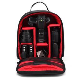 $enCountryForm.capitalKeyWord Australia - Upgrade Waterproof multi-functional Digital DSLR Camera Video Bag w  Rain Cover SLR Camera Bag PE Padded for Photographer