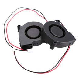 Dc brushless cooling fans online shopping - 5Pcs Ultra Quiet Black Brushless DC Cooling Blower Fan S V A x15mm XXM