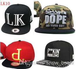 Wholesale New Arrival LK Snapback Hats Cayler and Son Trukfit Snapbacks Hat Boy London Caps Fresh Fitted Baseball Football Pink Dolphin Cheap Cap