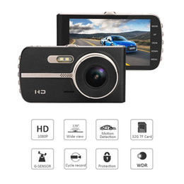 $enCountryForm.capitalKeyWord NZ - New car DVR digital video recorder vehicle dash cam 1080P full HD IPS screen 2Ch double lens front 170° WDR G-sensor night vision