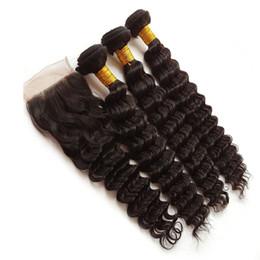 Hair Waves Online Australia - Buy virgin human hair online deep wave no tangle no shedding straight hair malaysian cheap french refined human hair