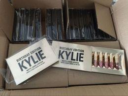 China hot sell Kylie Jenner holiday & Birthday Edition Lip Kit Matte Liquid Lipsticks 6pcs set mini kylie lipgloss kit suppliers