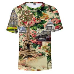 $enCountryForm.capitalKeyWord Canada - 3D Eiffel Tower 2018 Brand Tshirt New Version Fashion Summer Harajuku Short Sleeve Men Women T Shirt Tops Casual Clothes