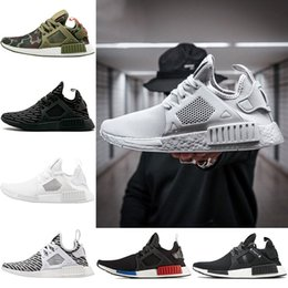 2018 Mens XR1 Running shoes OG Mastermind Japan Triple Black White Zebra  Olive Camo Breath Women Primeknit Run Sports Sneakers Size 5-11 f91d1149e
