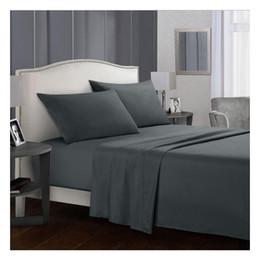 $enCountryForm.capitalKeyWord Australia - Simple DUVET COVER SET bed skirt Pillow Case LUXURY QUILT SETS DUVETS COVERS SINGLE DOUBLE SUPER Queen King Size Bed Set