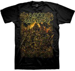 Estilo de China Moda Rock Amon Amarth Loki Camisa S M L XL XXL Camiseta Oficial Death Metal T-Shirt Summer Style Casual Clothing en venta