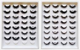 EyElash fur online shopping - 1 Pack Styles Selectable Black Band High Quality D Mink Hair Fur Eyelashes Eye Extension Lashes OEM Custom Private Logo Acceptable