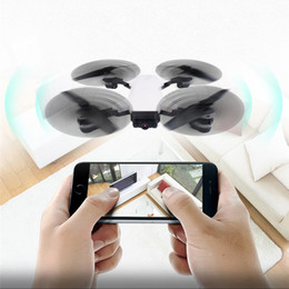 Helicopters Toys Camera Australia - New Arrival Foldable Wifi Drone RC Quadcopter Toy Wifi Mini Helicopter HD FPV Drone Camera 6Axis Real Time Video Viewing Mini Selfie Drones