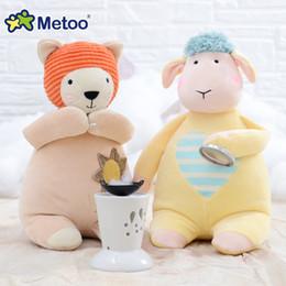 $enCountryForm.capitalKeyWord Australia - 1Pcs 28CM Toys Girl Metoo Soft Cartoon Animal Elephant Plush Kawaii Appease Sleep Dolls For Kids Infant Christmas Birthday Gifts