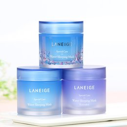 ml control 2019 - 70 ML Karean LANEIGE Special Care Water Sleeping Mask 3 Styles face cream overnight facial care for all skin types cheap