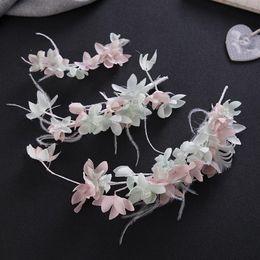 Discount hair designs headdresses - Design pure hand headdress bride feather headdress bride wedding dress accessories manufacturer direct selling