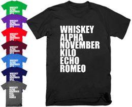 7efde3cd5 Funny Christmas T Shirts NZ - Whiskey Alpha November Kil Funny Offensive  Rude T Shirt Christmas