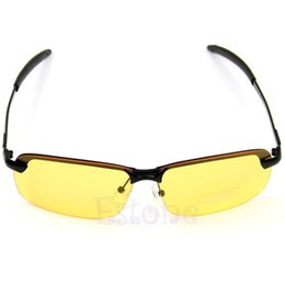 8cc67333e0 Hot Sale men s car drivers night vision goggles anti-glare polarizer  sunglasses Polarized Driving Glasses Free Shiping-448E