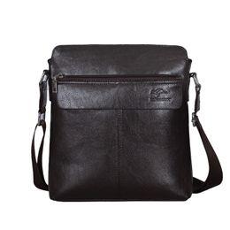 Genuine Leather Handbag Cowhide Shoulder Bag Australia - Cowhide Men Messenger Bags Genuine Leather Men Shoulder Crossbody Bags For Small Travel Bag Causal Small Handbags Man Bag WBS424