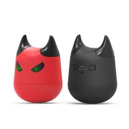 $enCountryForm.capitalKeyWord UK - New Luxury Little Devil Smart Wireless Bluetooth Speaker Portable Cartoon Car Subwoofer Gift Mini Speaker MOQ:10pcs Free Shipping