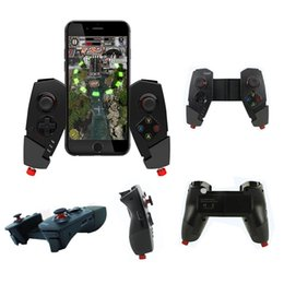 ipad controllers 2018 - IPEGA PG-9055 Wireless Bluetooth Game Controller Joystick with Stretch Bracket for iOS ipad Android Smartphone TV TV Box