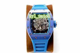 $enCountryForm.capitalKeyWord UK - 2018 The World's Most Popular Men's Watch Blue Waterproof Rubber Strap Ceramic Bezel Hollow Mechanical Watch