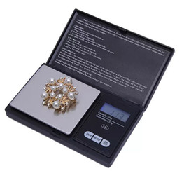 electronic digital jewelry scales UK - Mini Pocket Digital Scale 0.01 x 200g Silver Coin Gold Jewelry Weigh Balance LCD Electronic Digital Jewelry Scale Balance