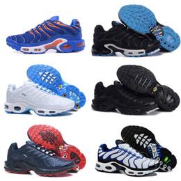 sale retailer abe3f 1131c 2019 Nike Air Max Tn shoes New Airmax tn neue Luft tn Schuhe für billige tn  requin Atmungsaktives Mesh schwarz weiß rot Chaussures Homme Trainer Männer  Korb ...