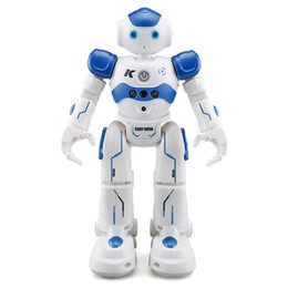JJRC R2 USB Charging Dancing Gesture Control RC Robot Toy for Children Kids Birthday Gift Present на Распродаже