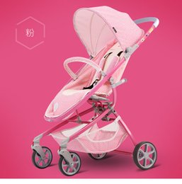 $enCountryForm.capitalKeyWord Canada - Baby Stroller High Landscape Light Folding Pushchair Can Sit And Lie Can Check The Baby Umbrella Carriage