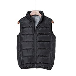 motorcycle vests 2019 - Mens Outdoors Vest Casual Coats Male Sleeveless Motorcycle Jacket Chaleco Hombre Thicken Waistcoat Casual Men Coats chea