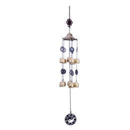ShoeS africa online shopping - Wind Chimes amp Hanging Decorations Outdoor Living Wind Chimes Yard Garden Tubes Bells Copper Home Windchime Chapel Bells Wall