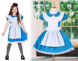 $enCountryForm.capitalKeyWord NZ - Halloween kids girl cosplay dress princess dress children stage performance suits ballet skirt costumes girls tutu dresses