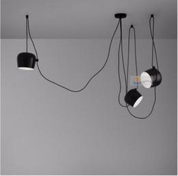 $enCountryForm.capitalKeyWord NZ - SVITZ Bar Black Bongos light for showcase cord lamp modern stair light long pendant lights string aluminum spider light adjustable