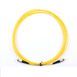 $enCountryForm.capitalKeyWord NZ - 10PCS FC UPC 3M Single mode 2.0mm or 3.0MM Fiber Optic Patch Cord FC fiber optic patch cable Fiber Optic Jumper Free shipping