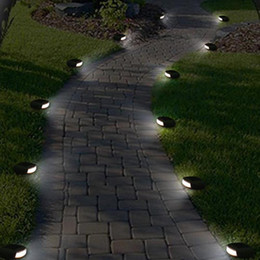 Motion Sensor LED Solar Panel Simulation Stone Lawn Light Waterproof  Outdoor Garden Fence Street Lamp Stair Wall Square Garland
