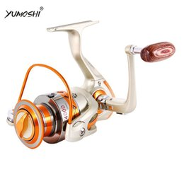 12 Gear Australia - YUMOSHI EF500-EF9000 SPINNING REELS BALL GEAR 12BB ALUMINIUM ALLOY LINE CUP AND ROCK ARM STURDY AND DURABLE FISHING REELS