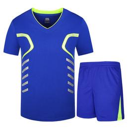 Summer Sportswear Suit Australia - Brand New V-neck Fashion Tracksuit Men Clothes 2018 Summer Short Sleeve Sweatsuit Men Two Piece Set Sportswear Track Suits