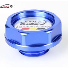 Cap Oil RASTP Para Mugen Poder alumínio Racing For Honda Civic For Oil Filler tampa de cobertura RS-CAP003 em Promoção