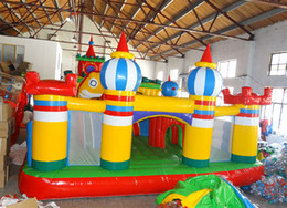$enCountryForm.capitalKeyWord Australia - 2018 popular big fun city giant indoor playgrounds inflatable bounce house and slide combo