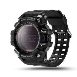 China New Sport smart watch buzzer sound alarm sport monitor IP67 waterproof burned calory men watch remote camera watches EX16 suppliers