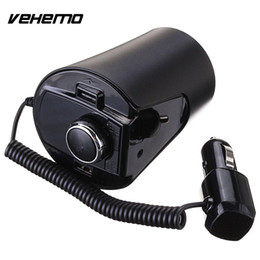 Mp3 cup online shopping - VEHEMO V A V FM Transmitter TF Pin Cup Charger Cup Bluetooth Car Accessories Car Charger Truck MP3 Player Dual USB