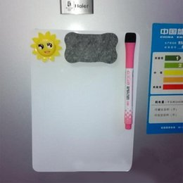 Cool Magnets NZ - Adeeing A5 Waterproof Drawing Magnetic Message Board Cooler Refrigerator Magnet Notepad r20