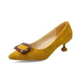 $enCountryForm.capitalKeyWord UK - Classic Sexy Pointed Low Med Kit Heels Women Pumps Shoes Spring Brand Design Crystal Wedding Shoes Dress Pumps sapatos feminino