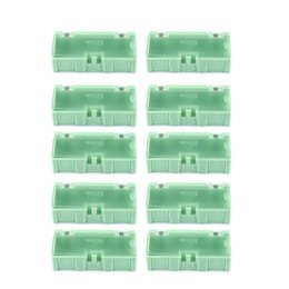 Smt Tools Australia - 10pcs Small Tool Screw Object Electronic Component Parts Storage Box Lab Case SMT SMD Automatically Pops Up Patch Container Case