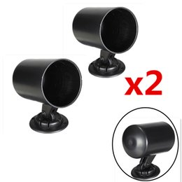 plastic trucks 2019 - Wholesale-2PCS 52mm Universall Gauge Swivel Pod Mount Holder Plastic Heavy Duty For Car Truck Motorcycle Instrument Blac