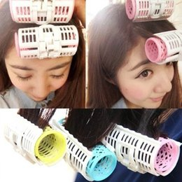 $enCountryForm.capitalKeyWord NZ - 3pcs lot Hair Curler Grip Cling Hair Rollers Curlers Salon Air fringe DIY bang Hairstyle Care Large Size