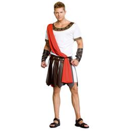Discount soldier women costume - ostume for men Umorden Halloween Adult Ancient Roman Greece Greek Warrior Soldier Gladiator Costume Great Caesar Costume