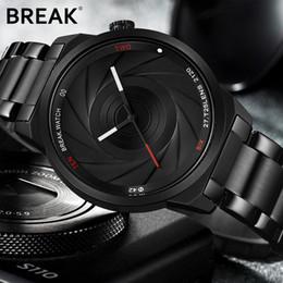 $enCountryForm.capitalKeyWord Australia - BREAK Photographer Series Unique Camera Style stainless Strap Men Women Casual Fashion Sport Quartz Modern Gift Wrist Watches