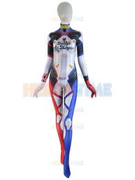 $enCountryForm.capitalKeyWord NZ - Harley D.VA Costume 3D Print Game D.Va Cosplay Costume Harley Skin D.va Tight Zentai Suit Halloween Spandex Costume