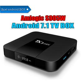 Mini pc internet online shopping - 1 Amlogic S905W TV Box TX3 Mini GB GB Best Internet TV Box Android better than MXQ TV Box support K H P