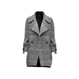 Весна куртка женский новый Хаундстут свободные моды костюм воротник короткий раздел прилив куртки на Распродаже