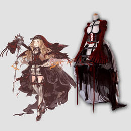 Vestito gotico delle donne Gioco caldo Costume cosplay SINOALICE Fancy Girls Party Dresses Halloween