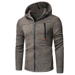 Trendy Clothing NZ - Men Trendy Zipper Splicing Pullover Hooded Sweatshirt 2018 Autumn Winter Fashion Clothing Male Plus Size Cardigan Coat Tops